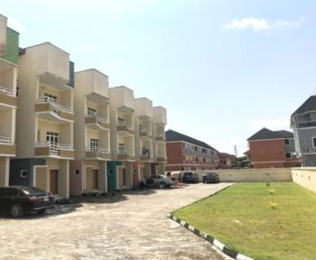 Newly Built, Spacious 4 Bedrooms Townhouse with a Bq in a Gated Estate, Osapa, Lekki, Lagos, Terraced Duplex for Sale