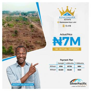 C of O Government Allocated Dry Land at Launching Promo Price, Olomowewe, Ibeju Lekki, Lekki Free Trade Zone, Lekki, Lagos, Residential Land for Sale