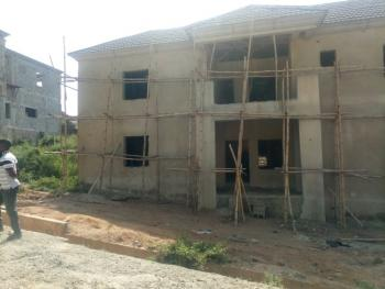 a Brand New 5 Bedroom Fully Detached Duplex Carcass, Naf Estate, Asokoro District, Abuja, Detached Duplex for Sale