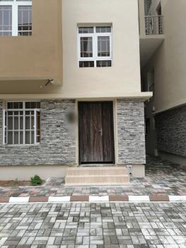 Four Bedroom  Maisonette in Carcass, Courtland Estate, Platinum Way, Ikate, Lekki, Lagos, Terraced Duplex for Sale