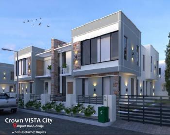 Well Designed 5 Bedroom Detached Duplex, Crown Vista Estate, Behind Trademore Estate, Karmo, Abuja, Detached Duplex for Sale