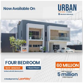 Newly Built Luxurious 4 Bedroom, Fully Furnished, Ibeju Lekki, Lagos, Semi-detached Duplex for Sale