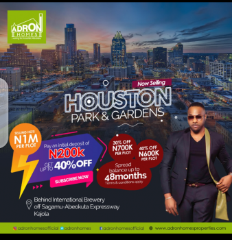 Houston Park and Gardens, Shagamu- Abeokuta Express Way, Kajola, Oyo, Mixed-use Land for Sale