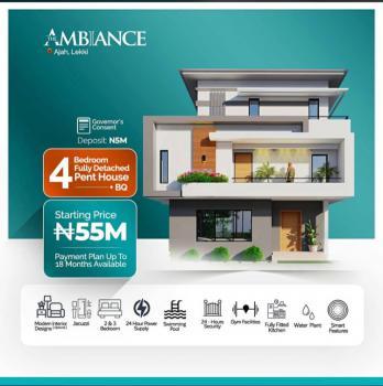 4 Bedroom Fully Detached, Abraham Adesanya, Ajah, Lagos, Detached Duplex for Sale