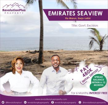 Plot of Seaview Estate Land in Good Location, Emirates Seaview Estate, Itamarun, Ibeju Lekki, Lagos, Residential Land for Sale