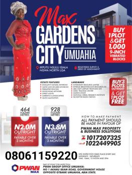 Availability of Plots of Land, Max Gardens Estate, Ikputu Nsulu, Isiala Ngwa, Abia, Residential Land for Sale
