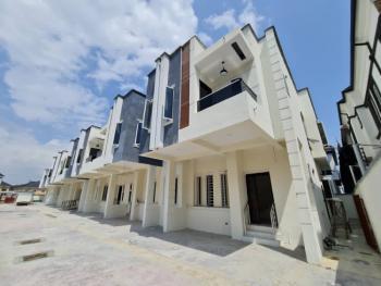 Humongous 4 Bedrooms Terraced Duplex with a Domestic Room, Chevron Toll Gate, Lekki Expressway, Lekki, Lagos, Terraced Duplex for Sale