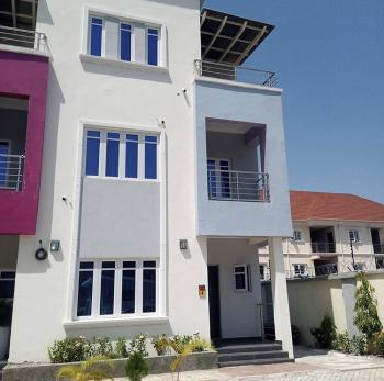 Luxury 4 Bedrooms Terraced Duplex & 1 Room Bq, Guzape District, Abuja, Terraced Duplex for Sale