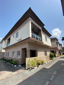 Well Built 4 Bedroom Detached Duplex with B.q, Chevron, Lekki, Lagos, Detached Duplex for Rent