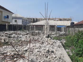 Fenced Half Plot of Land, Before Shoprite, Sangotedo, Ajah, Lagos, Residential Land for Sale