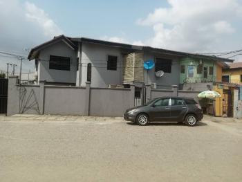 2 Units of 5 Bedrooms Semi-detached Duplex on 529.069sqm, Ifako, Gbagada, Lagos, Semi-detached Duplex for Sale