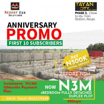 Promo Offer for Luxury Land, Idu Industrial, Abuja, Residential Land for Sale