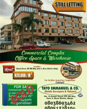 Commercial Complex, 16 Gwani Street, Zone 4, Wuse, Abuja, Office Space for Rent