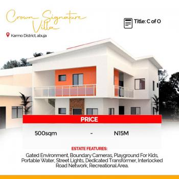 500sqm of Land, District, Karmo, Abuja, Residential Land for Sale