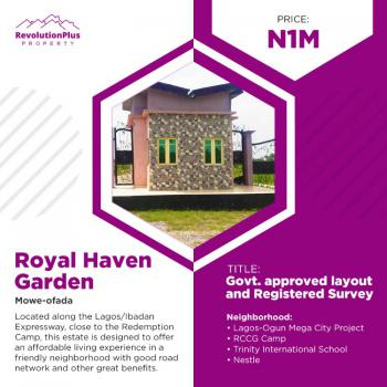 Invest in Plots of Estate Land in Good Location, Royal Haven Garden, Mowe Ofada, Ogun, Residential Land for Sale