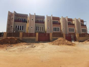 Brand New and Nicely Located 4 Bedroom Terrace House with Boys Quarter, Wuye, Abuja, Terraced Duplex for Sale