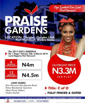 Praise Gardens, Obigbo, Oyigbo, Rivers, Mixed-use Land for Sale