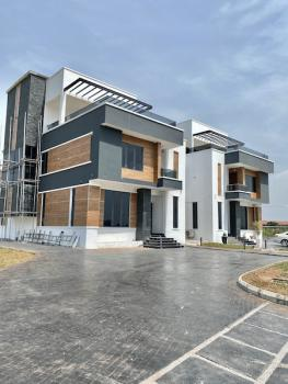 New House Spacious Big Compound 5 Bedroom Semi Detached Duplex+bq, Ikate, Lekki, Lagos, Semi-detached Duplex for Sale