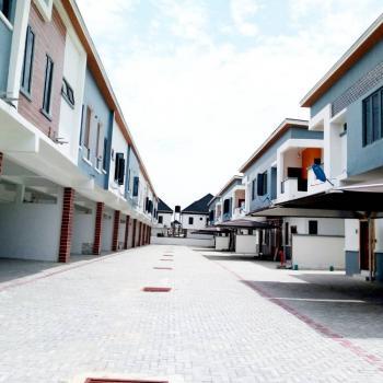 Newly Built 4 Bedroom, Chevron, Lekki, Lagos, Semi-detached Duplex for Sale