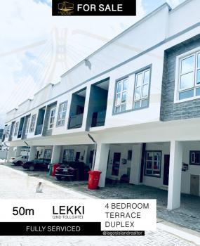 Brand New 4 Bedroom Terrace Duplex, Victoria Bay Estate, Lafiaji, Lekki, Lagos, Terraced Duplex for Sale