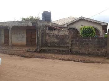 2 Units of 4 Bedrooms Bungalow with 2 Shops in Front (c of O), Mtn Road, Sango Ota, Ogun, Detached Bungalow for Sale