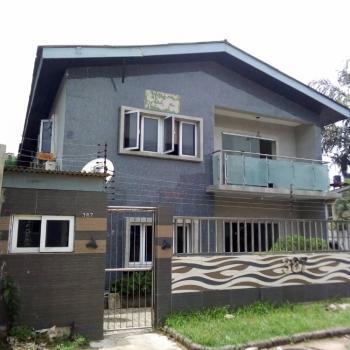 Lovely 6 Bedroom  Duplex+2 Bedroom  Bq, Borno Way Road, Ebute Metta West, Yaba, Lagos, Office Space for Rent