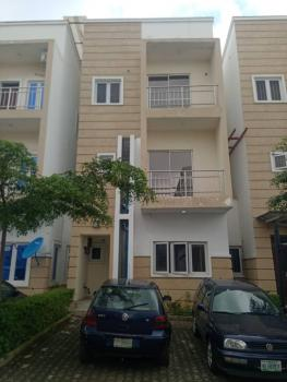4 Bedroom Terrace with a Room Bq, Close to Vio Office, Mabushi, Abuja, Terraced Duplex for Rent