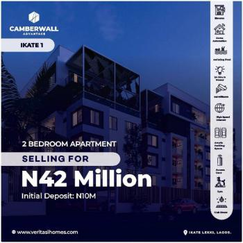 Luxury 2 Bedroom Flat with Fitted Kitchen, Camberwall Advantage 1 Estate, Ikate Elegushi, Lekki, Lagos, Flat for Sale