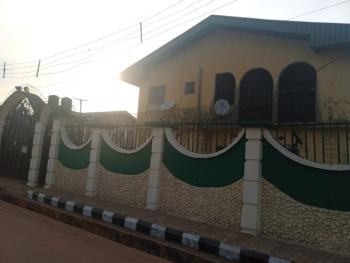 3 Bedrooms Flat, with Vacancy Upstairs., By Abuja Quarters., Benin, Oredo, Edo, Flat for Rent