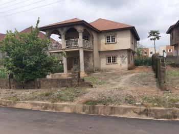 a 4 Bedroom Carcass with Space for Bq Behind in an Estate., Lingo Estate., Lokogoma District, Abuja, Detached Bungalow for Sale