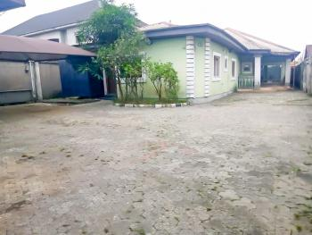 Standard 5 Bedroom Bungalow on Above 1 Plot, By School of Health, Rumueme, Port Harcourt, Rivers, Detached Bungalow for Sale
