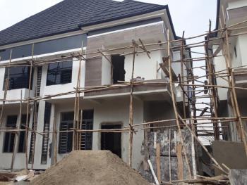 Nicely Built, 4 Bedrooms Semi Detached Duplex with Bq in an Estate, Chervon Alternative, Lekki Phase 2, Lekki, Lagos, Semi-detached Duplex for Sale
