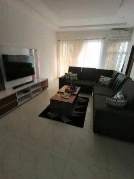 Luxury 2 Bedrooms Flat with Visitors Toilet & 24 Hours Power, Behind Romay Gardens, Ilasan, Lekki, Lagos, Flat Short Let