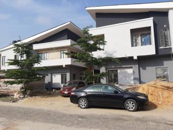 Luxury 4 Bedroom Semi-detached House with 1room Bq and Fitted Kitchen, Beuna Vista Estate,orchid Road,lekki,lagos, Lafiaji, Lekki, Lagos, Semi-detached Duplex for Sale