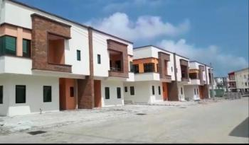 4 Bedroom Semi Detached Duplex with Bq, Orchid Road Opposite Chevron, Lafiaji, Lekki, Lagos, Semi-detached Duplex for Sale