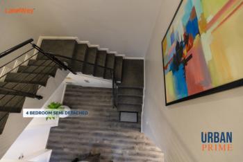 4 Bedroom Semi Detached, Abraham Adesanya Urban Prime, Ajah, Lagos, Semi-detached Duplex for Sale