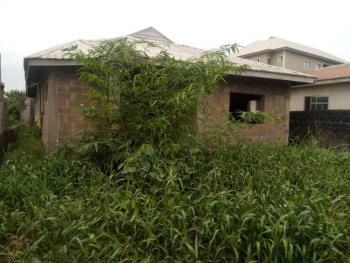 4 Bedroom Bungalow on a Half Plot of Land, Berger, Arepo, Ogun, Detached Bungalow for Sale