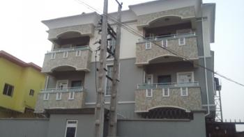 Lovely Finished Serviced 3 Bedroom Flat, Soluyi, Gbagada, Lagos, Flat for Rent