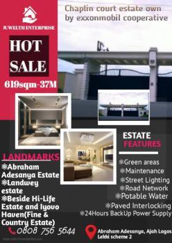 619sqm Land, Abraham Adesanya, Lekki Scheme 2, Lekki, Lagos, Residential Land for Sale