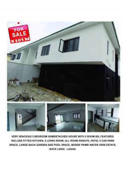 5 Bedroom Duplex, Beside Prime Water View Estate, Ikate, Lekki, Lagos, Semi-detached Duplex for Sale