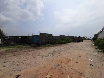 a Prime 5 Acres Partly Fenced, Directly Facing Lekki Free Trade Zone, Imobido, Lekki Free Trade Zone, Lekki, Lagos, Mixed-use Land for Sale