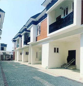 Newly Built and Fully Furnished 4 Bedroom Terrace Duplex with Big Rooms, Chevron, Lekki Phase 2, Lekki, Lagos, Terraced Duplex for Rent