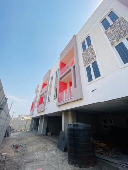 Humongous 4 Bedroom Terrace Duplex with Bq, Before Chevron, Lekki Expressway, Lekki, Lagos, Terraced Duplex for Sale