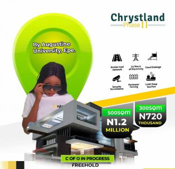 Residential Dry Plot of Land, Chrystland Estate Phase By St Augustine University, Epe, Lagos, Residential Land for Sale