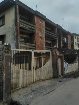 4 Nos of 3 Bedroom Flat with Warehouse Space on 1106.26sqm, Olanrewaju Street, Akoka, Yaba, Lagos, Block of Flats for Sale