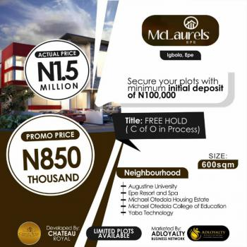 Land, Igbola, Mclarens, Epe, Lagos, Mixed-use Land for Sale