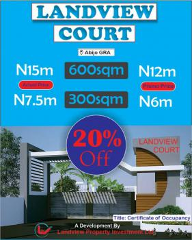 a Strategy Location for The Right Investment.  Cofo, Landview Court Estate , Gra., Abijo, Lekki, Lagos, Mixed-use Land for Sale