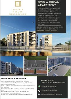 Luxurious Finished and Furnished 2 Bedroom Flats, Osoroko Town, Lekki Free Trade Zone, Ibeju Lekki, Lagos, Flat for Sale