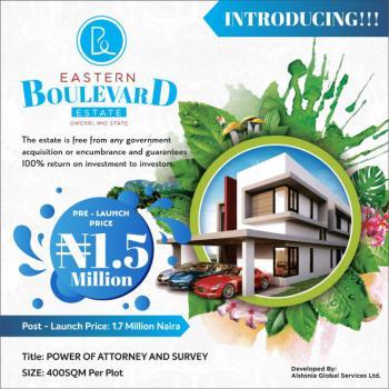 100% Dry Land in Strategic Location Near Express Road, Eastern Boulevard Estate  Portharcourt Owerri Road, Ohaji/egbema, Imo, Mixed-use Land for Sale