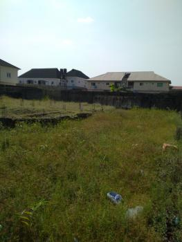 a Plot of Dry Land Facing Express in Sangotedo Before Shoprite, Dry Plot in Sangotedo Facing Express Fenced with Gate Before Shoprite, Lekki, Lagos, Mixed-use Land for Sale
